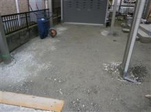 土建屋さんによる土間コンクリート打設 準備1