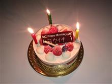 誕生日・・・・^^;
