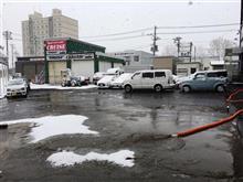 クルーズ 札幌は雪ですがヒデちゃん明日明後日が正念場!