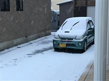 冬支度ですね‥😔