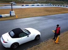 田中ミノルのドラテクレッスンinタカスサーキット!参加して来ました。