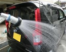 水洗い&Mリンス洗車@MOVE