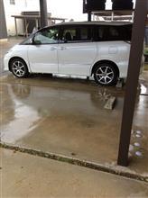 洗車日和?