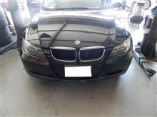 BMW 3シリーズ E90 ベルトテンショナー交換