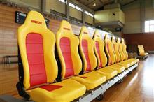 愛知県 東海市民体育館にベンチシートを納品しました!