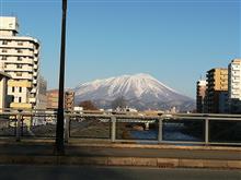 がりっと冷えたので、岩手山はくっきり!