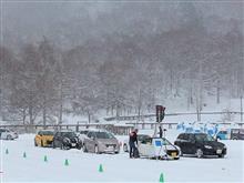 氷上ドライビングスクール(長野県 女神湖)