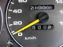 210000KMになりました