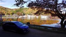 円良田湖と陣見山林道