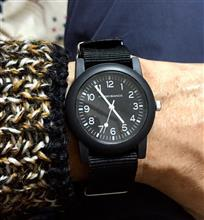 ダイソーの500円時計を買ってみた