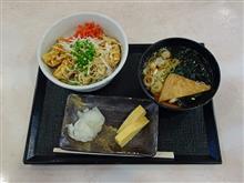 関越道下り三芳PA 餃子丼セット780円