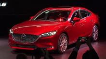 「Mazda6(2018)」<ブロードキャストライブ>/ロサンゼルスオートショー2017