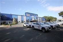 ミツビシ パジェロ スポーツ が フィリピン国家警察 の 車両 に 採択 ・・・・
