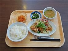 東名高速下り海老名SA 紅虎油淋鶏定食980円