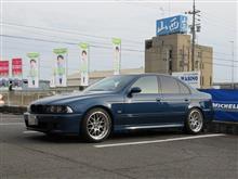 小さな補強パーツ...BMW E39 525 更にDrカーボン+ビルシュタインエンジンフラッシング