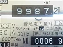 本日、12月1日は納車4年目の記念日。そして、バッテリー容量測定(71.3%)