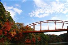 関東で一番遅い紅葉 =亀山湖紅葉狩りクルーズ🍁 2017 =