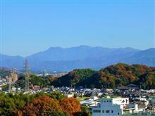 近くのお山も色づいて…(^^)/