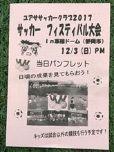 サッカーフェスティバル大会in草薙ドーム!