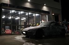 セルシオ・N-BOXcustom 施行中にys special ver.2 施工後2年 S2000の方がアベたか呼べ~~と御来店です^^