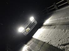 鳥取の雪道