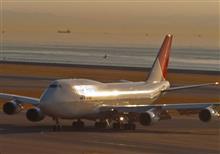 四発機に憧れて・・MyセントレアCollection (2) JAPAN AIRLINES B-747