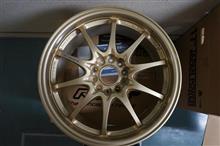 今日のホイール RAYS Volk Racing CE28N(レイズ ボルクレーシング CE28N) -トヨタ オーリス用-