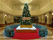 京王プラザホテルのクリスマスツリー