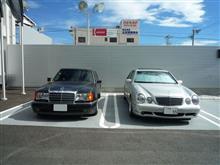 【W210 型 AMG E55】清水和夫氏が購入されたんですって!