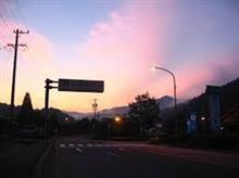 「 早朝、散歩 」 ~