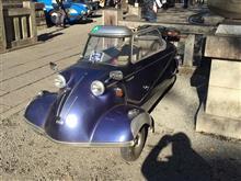 2017年谷保天満宮の旧車祭で気になった車 その8 欧州車