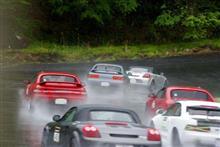 MR2で雨の日の走行会