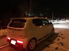 あえて雪道を選んでみて 〜富山へ下道の旅〜