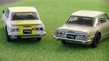 ミニカー撮影 2017/12/02  M2 Machines 1971 Nissan Skyline GT-R (2/2)