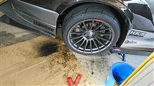 タイヤ削り
