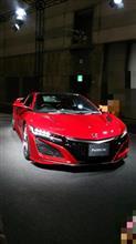 名古屋モーターショー、HONDA NEW NSX !