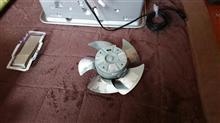 ファンヒーターのアルミテープチューン
