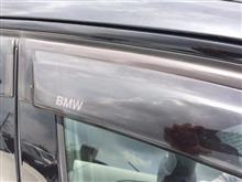BMW ドアバイザー DIY