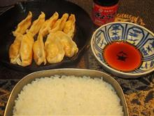 不治・室内・総合火力演習 美味い炊きたてゴハンと焼き餃子😊