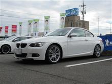 同時交換が...お値打ちでした BMW E92 320 ディクセルPDブレーキローター