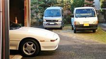 TTサンバー洗車した、我が家に千葉県警がやってきた・・・、などなど。