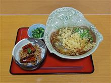 名神高速上り多賀SA きのこの天ぷらそばミニうな丼1180円
