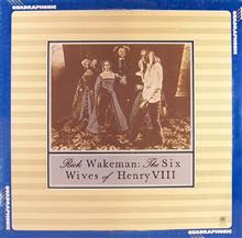 RICK  WAKEMAN/The Six Wives of Henry VIII 【CD-4channel】