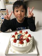 次男5才誕生日