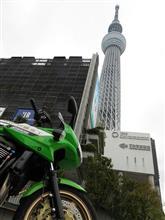 東京のバイクは終わった・・・ (*T∇T*)