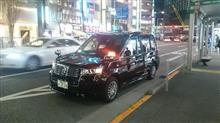 JPNタクシー初めて見ました♪at渋谷