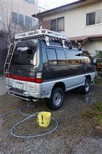 ラスト洗車か?