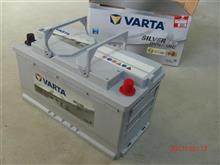 VARTA Silver Dynamic AGM LN5 G14  95A に 交換