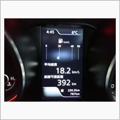 燃費計の写真