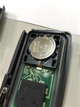 イモビライザー電池交換